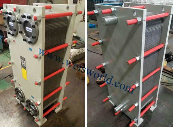 The maintenance guideline of plate type heat exchanger of aluminum extrusion press