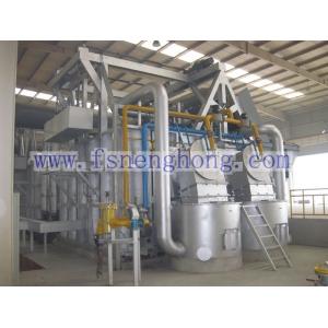 Regenerative Burner Lifting Door Aluminium Melting Furnace