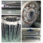Aluminum extrusion container heater