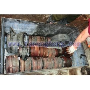 Aluminum Extrusion Die Remains Pressing Machine