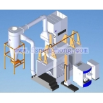 Aluminum Profile Powder Coating Line
