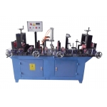 New Design Aluminium Profile Sticking Plastic Film Machine