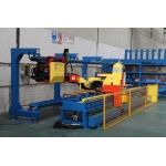 Three Heads Double Rails Type Aluminum Profile  Double Puller